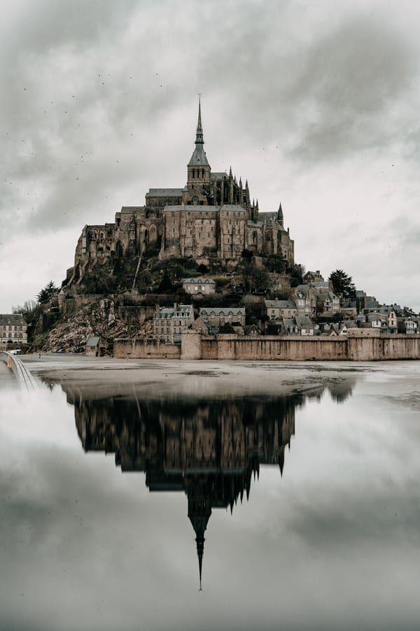most haunted places in the world Mont Saint Michel