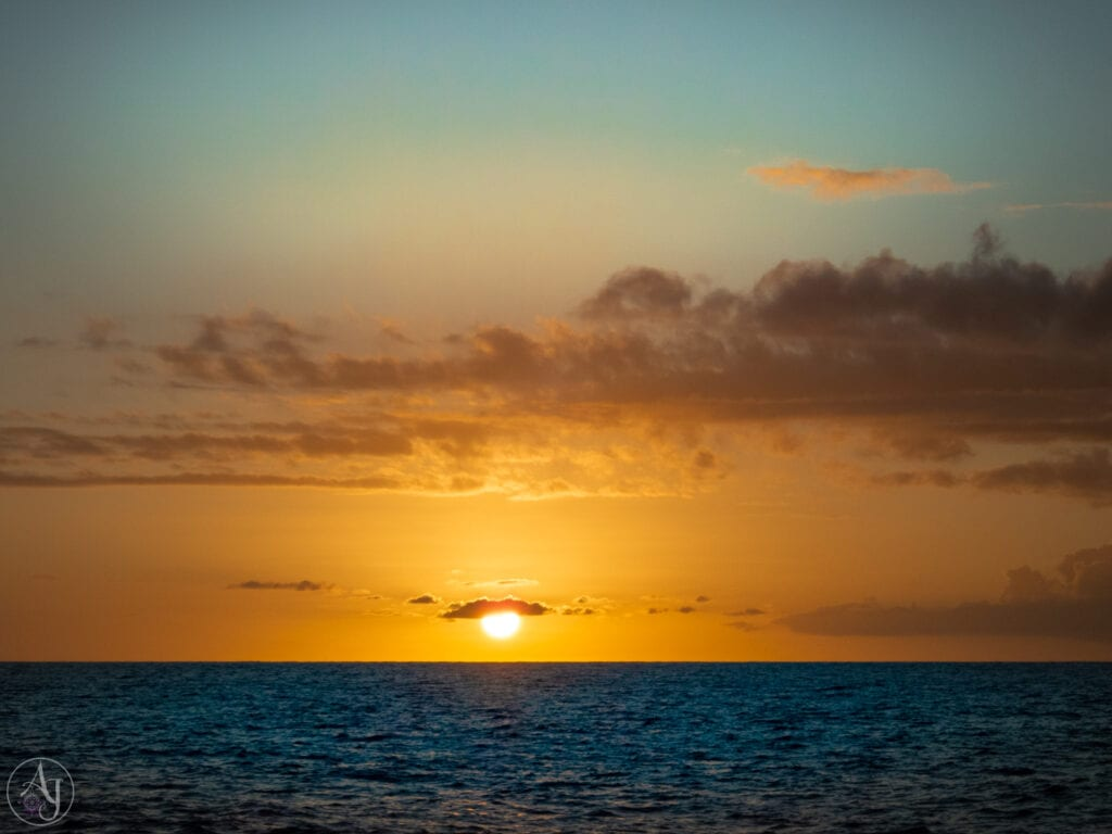 gorgeous nature photos of tropical sunsets