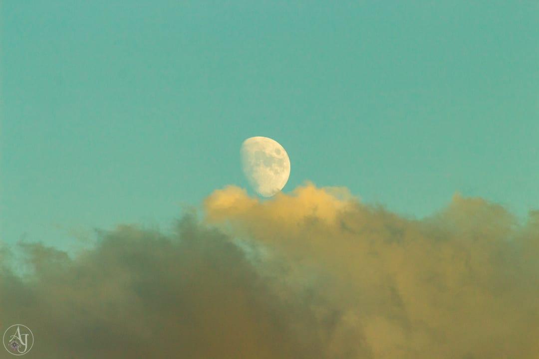 nature landscape photography moonrise