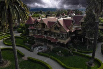 The haunted Winchester House in California