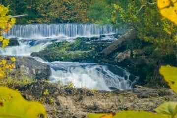 Madam Brett Park waterfall landscape photo