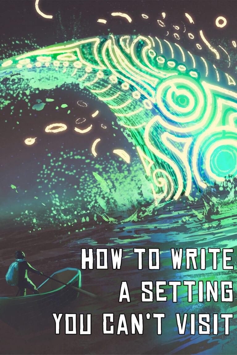 Fantasy novel writing settings advice