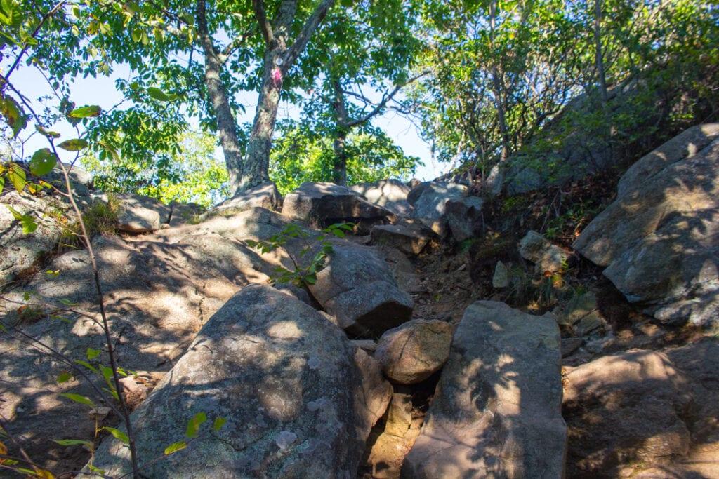 Breakneck Ridge Hudson Highlands Hiking Trail
