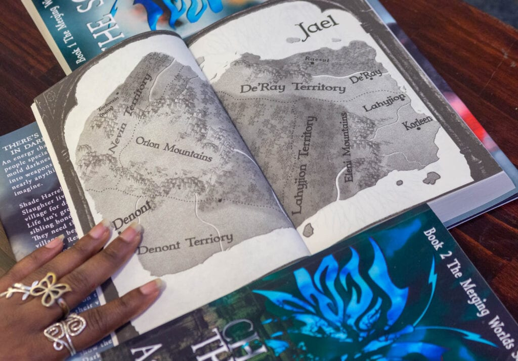 The Epic Dark Fantasy Map