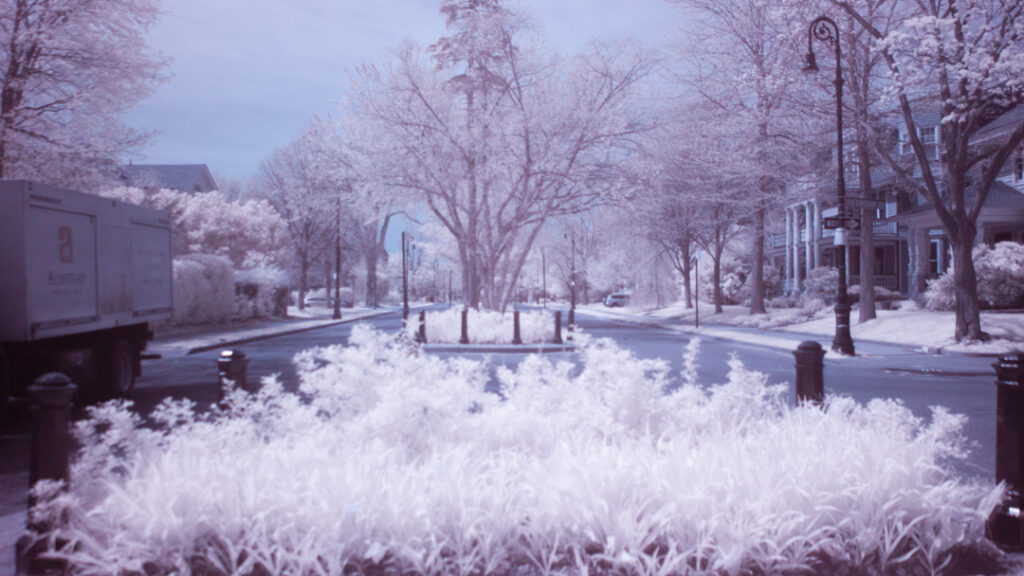 First Infrared Landscapes