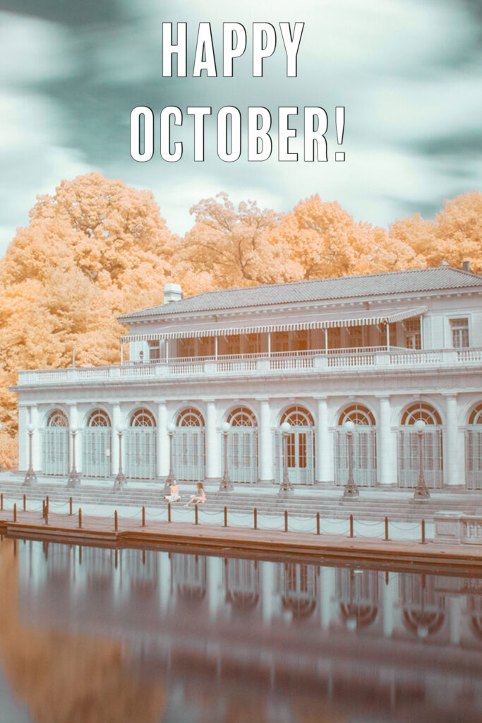 Happy October What's on Your Fall Bucket List?